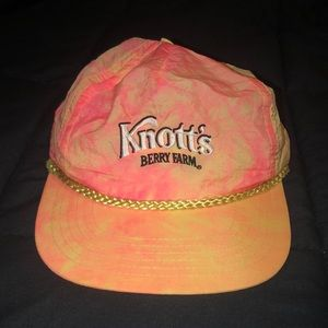 Vintage Knott's berry farm, snap back hat